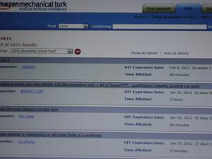 how to submit hit on amazone mechanical turk