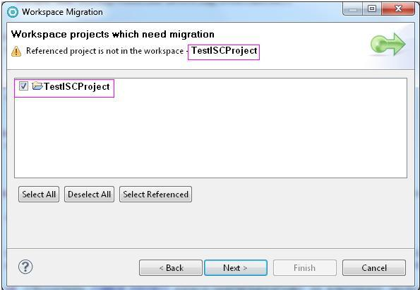 how to migrate application from rad7 5 to rad8