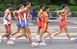Racewalking, Source:Wikipedia