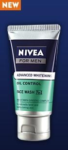 Nivea Advanced Whitening Oil Control 10 in 1 Face Wash