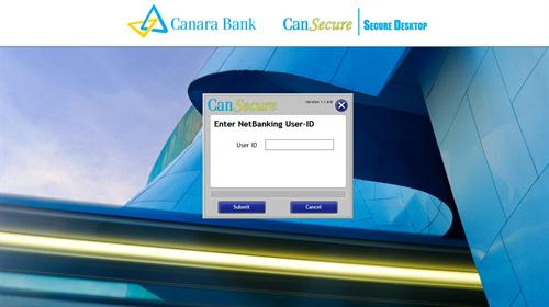 Welcome Screen of CanSecure Software