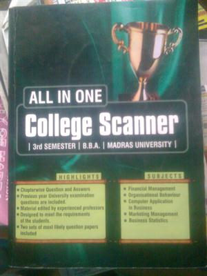 All in one college scanner