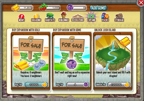 Dragon city facebook online game expand all
