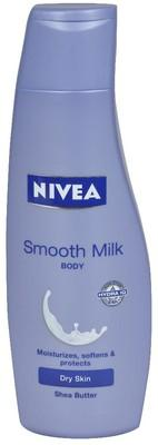 Nivea Smooth Body milk.