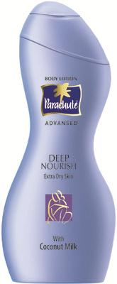 Parachute body lotion.