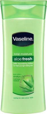 Vaseline Aloe fresh body lotion.