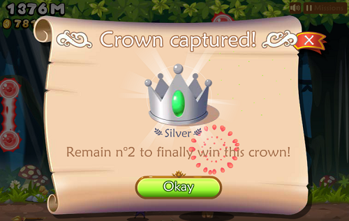 Magical Ride facebook game crown rewards
