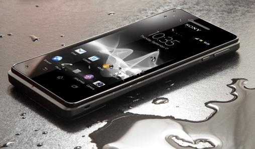 Sony waterproof Smartphone