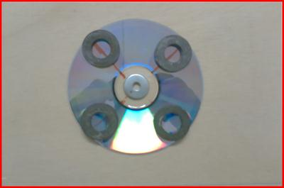 magnet on cd