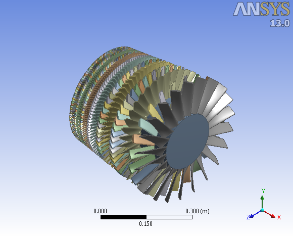 Axial Flow Compressors : Axial flow compressor