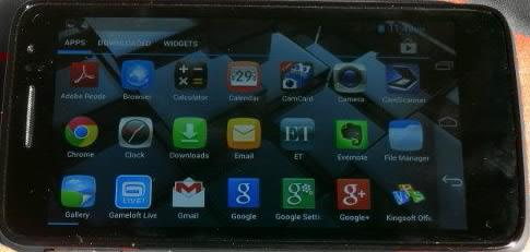Panasonic P51 menu