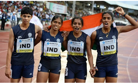 Indian team for World athletic Championship 2013 Moscow Russia