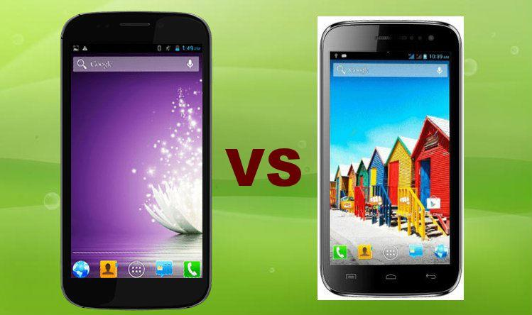 Micromax Canvas 4 vs Micromax Canvas HD