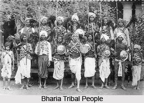 People of Bharia tribe