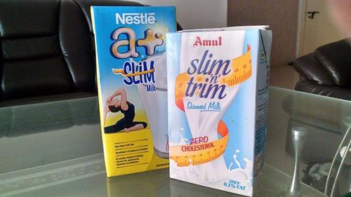 Milk remains contamination free in tetra packs
