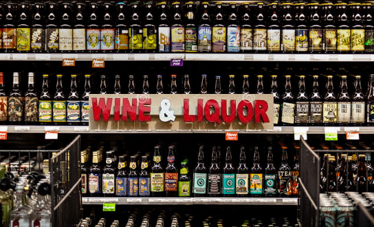 wine and liquor shop license