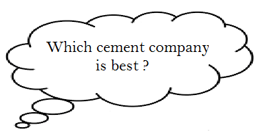 which cement co. is best