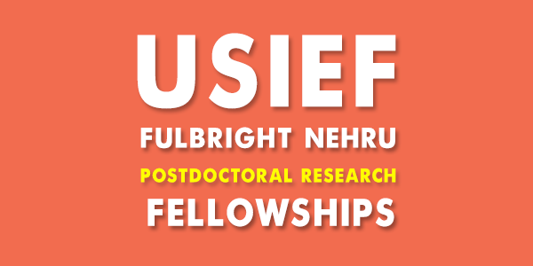Fulbright Nehru Postdoctoral Research Fellowships