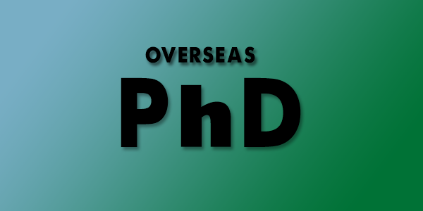 Overseas PhD After Bachelors in US