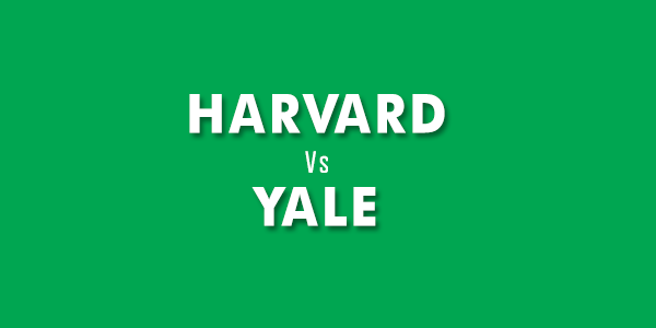 Harvard and Yale universities