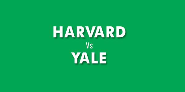 Harvard and Yale universities
