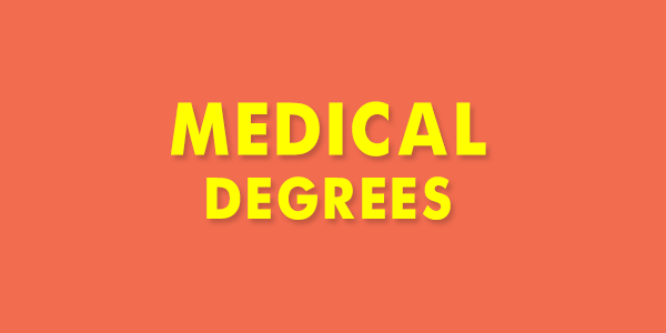 Differences in Medical Degrees