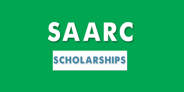 SAARC Scholarships for Indian students