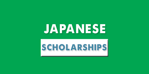 application for Japanese Government scholarships