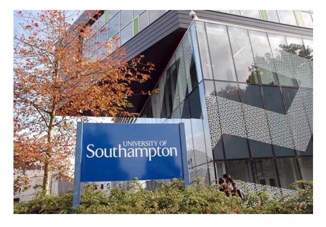 University of Southampton UK campus building photo