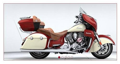 Indian Roadmaster bike image