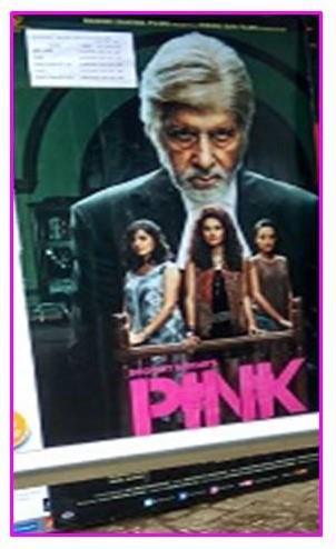 Pink Hindi film poster
