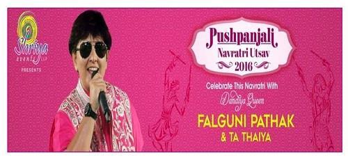 Falguni Pathak Navratri Utsav 2016 banner