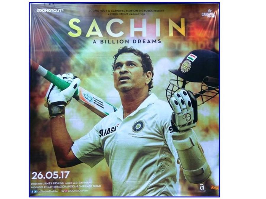Sachin: A Billion Dreams film poster