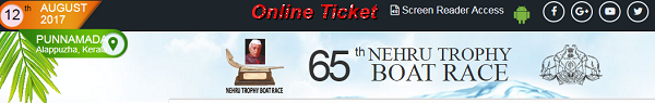 Watch Nehru trophy Boat race and online tickets