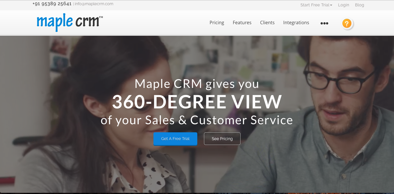 maplecrm Best CRM Software