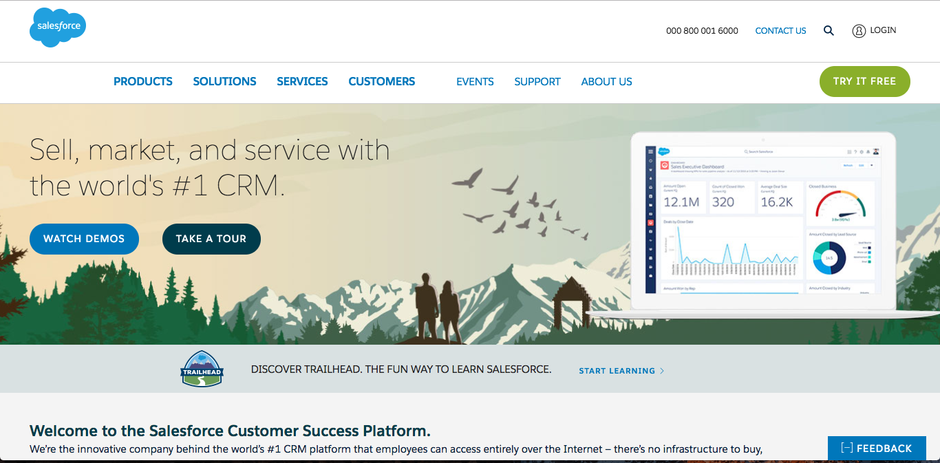 salesforce Best CRM Software