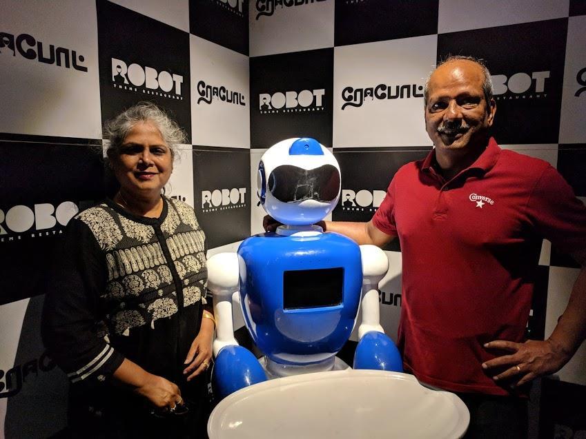 Robot theme restaurant chennai a review