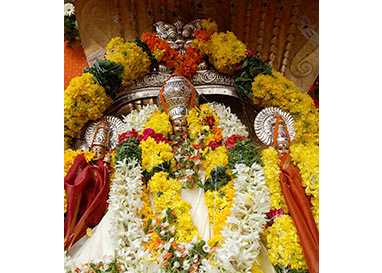 Sri Bramarambha Malleswara Swamy temple, Pedakakani, Guntur District, A.P.