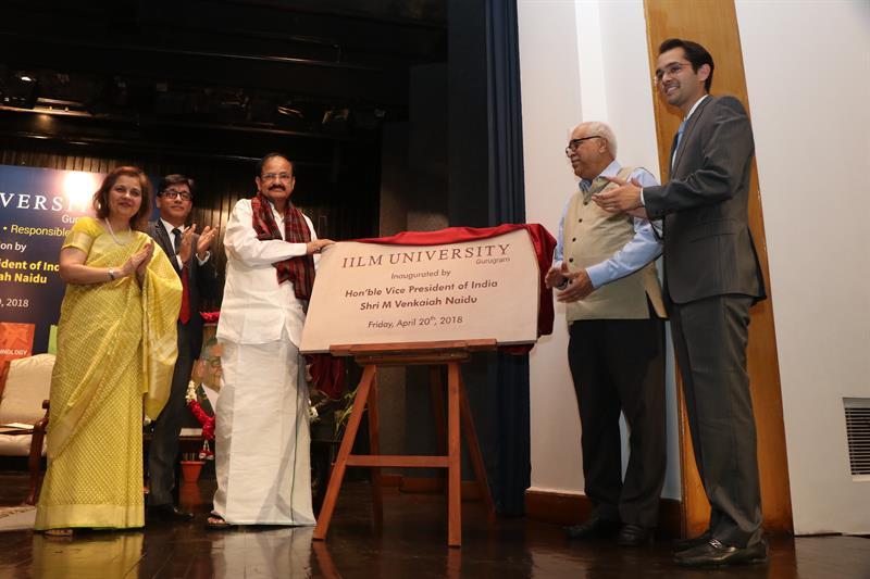 Pic 1 Inauguration of IILM University