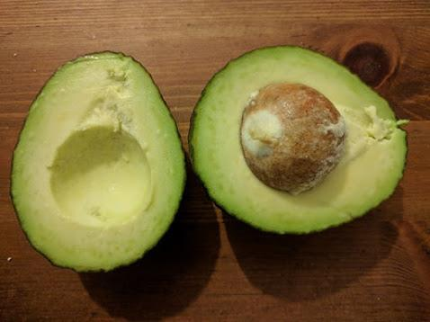 Mashed avocados can be added to chapati dough