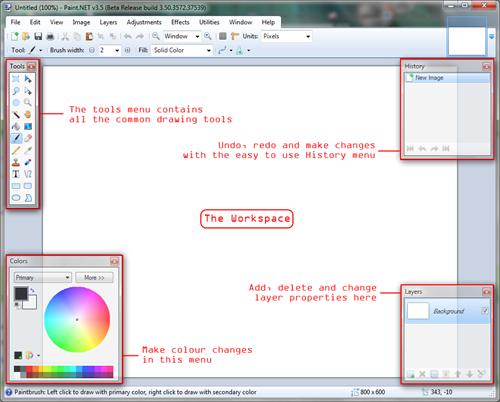 Best Software Picks Paint Net Image Editor