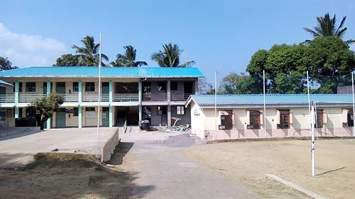 Newly constructed block for secondary classes