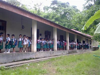 Images of Laxmipur School in North Andaman