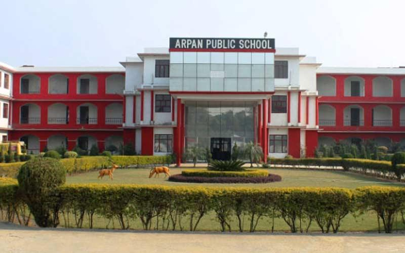 Building of Arpan Public School, Shamli