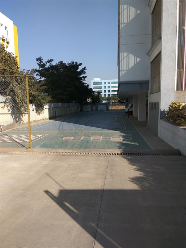 The sketting and Table tennis area of Clara Global School, Pune
