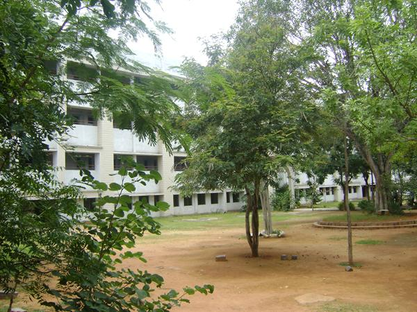Photo of college buildings