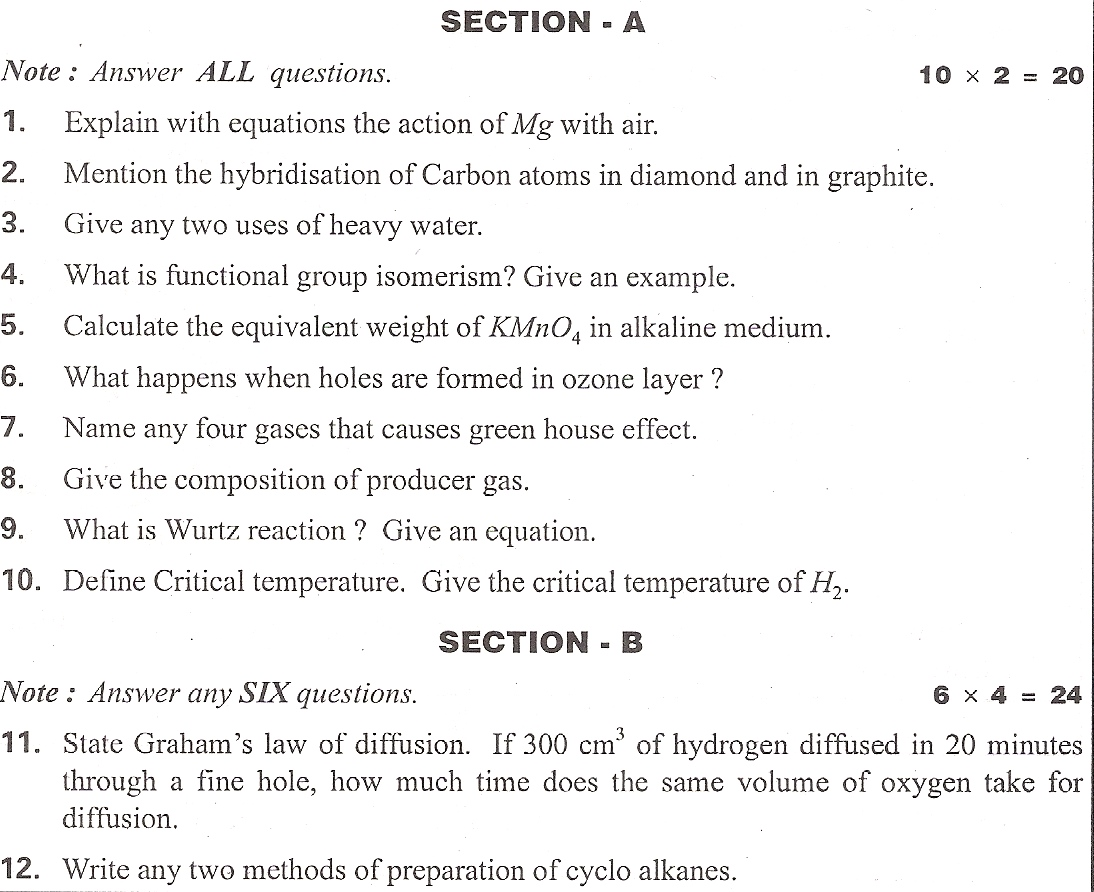 Andhra pradesh state chemistry state syllabus intermediate first side 2 download return to question paper search malvernweather Images