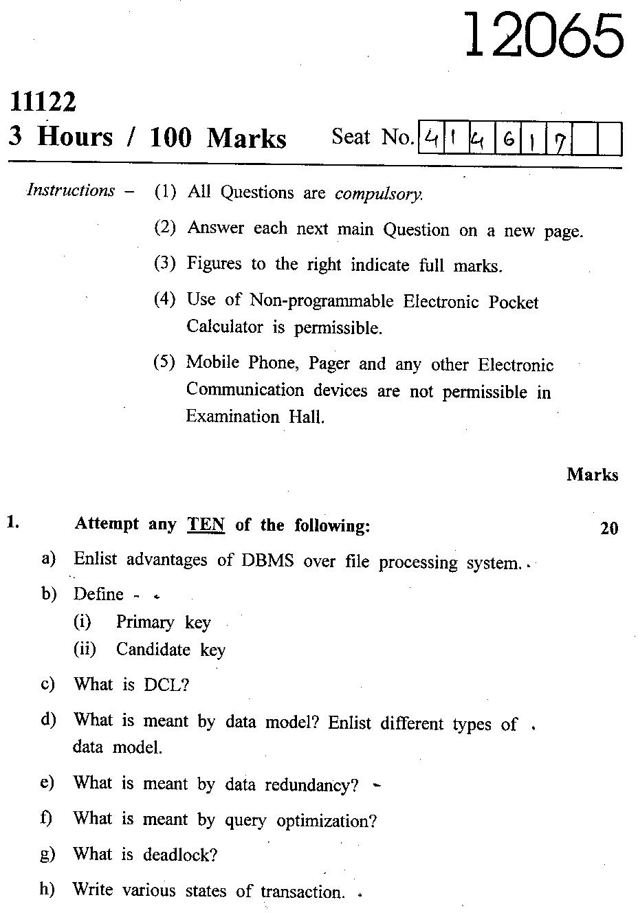 Engineering Management subject at university