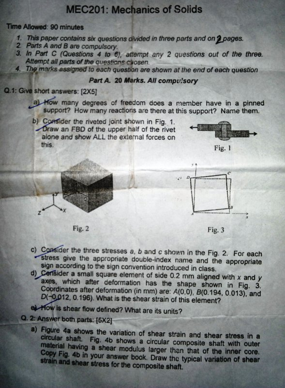research paper on solid and mechanics