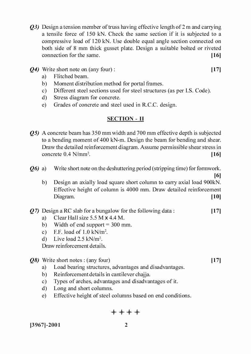 Savitribai phule pune university university of pune b e architecture third year bachelor of for Interior design exam questions